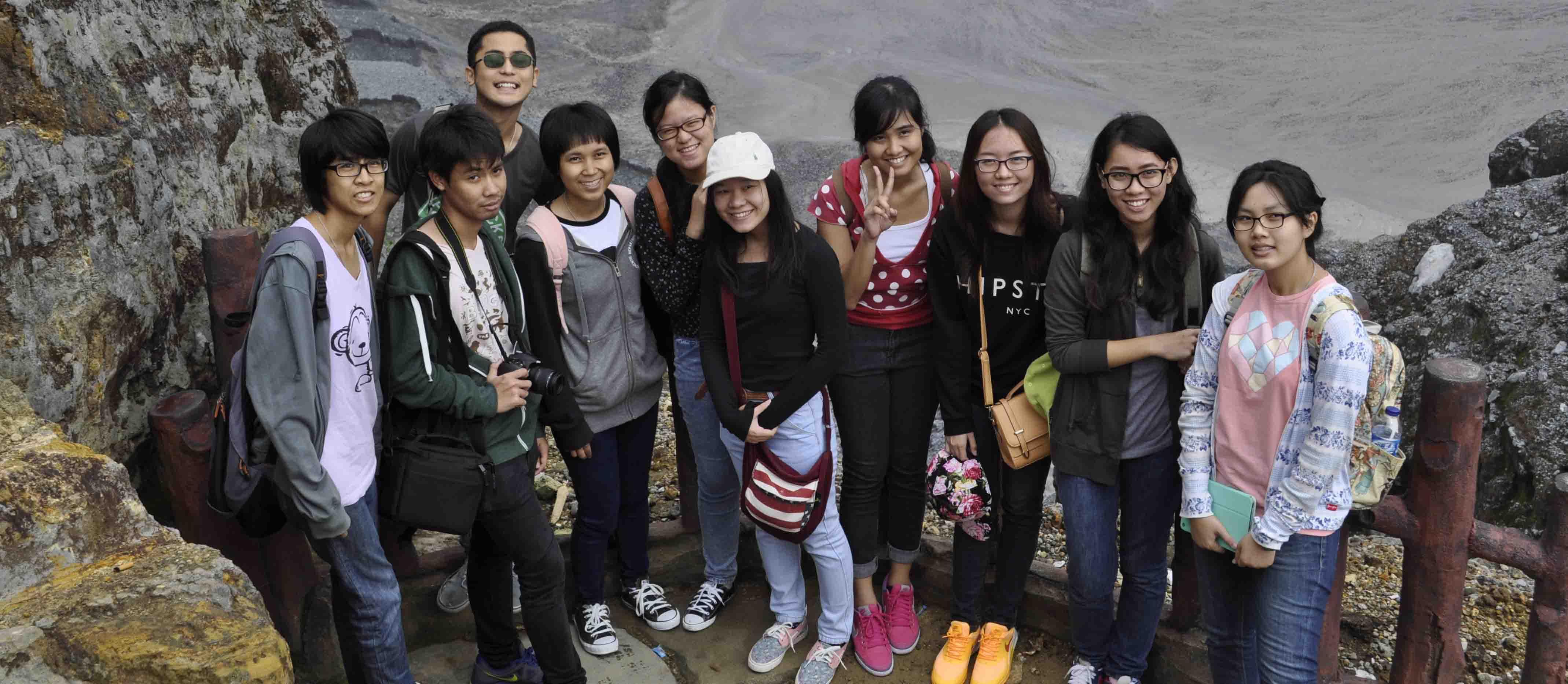 Acara Penerimaan Kedatangan Mahasiswa Universitas Mahidol Thailand