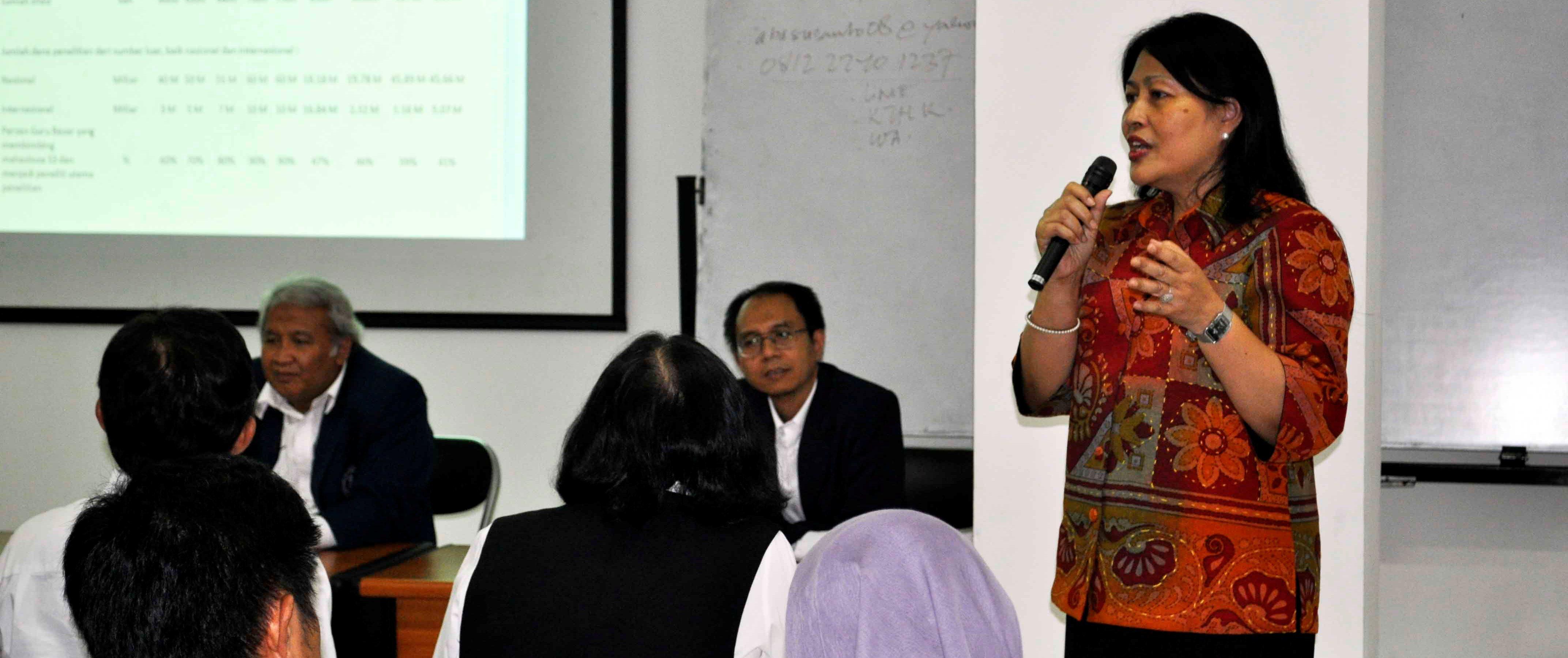 Acara Silaturahim FMIPA Bersama Rektor ITB