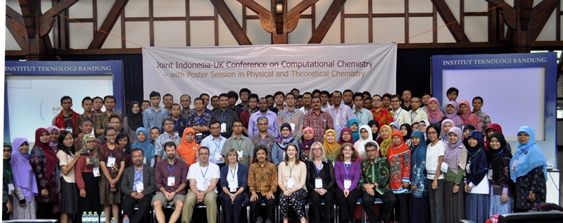 Joint Indonesia-UK Conference on Computational Chemistry 2015-with Poster Session in Physical and Theoretical Chemistry