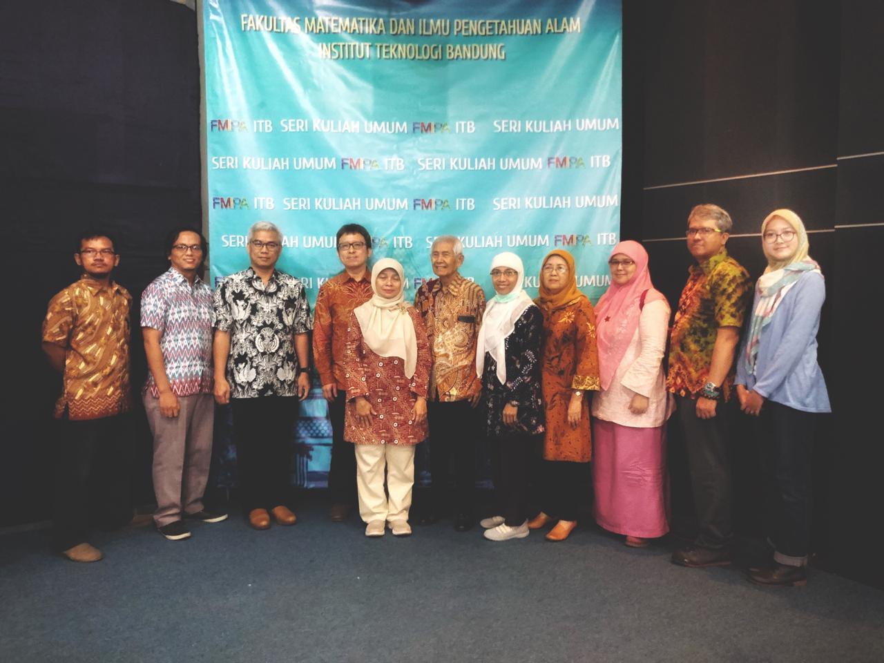 Seri Kuliah Umum FMIPA ITB 7 Desember 2019