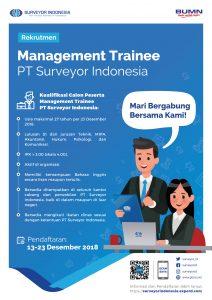 Lowongan Pekerjaan PT Surveyor Indonesia (PTSI)