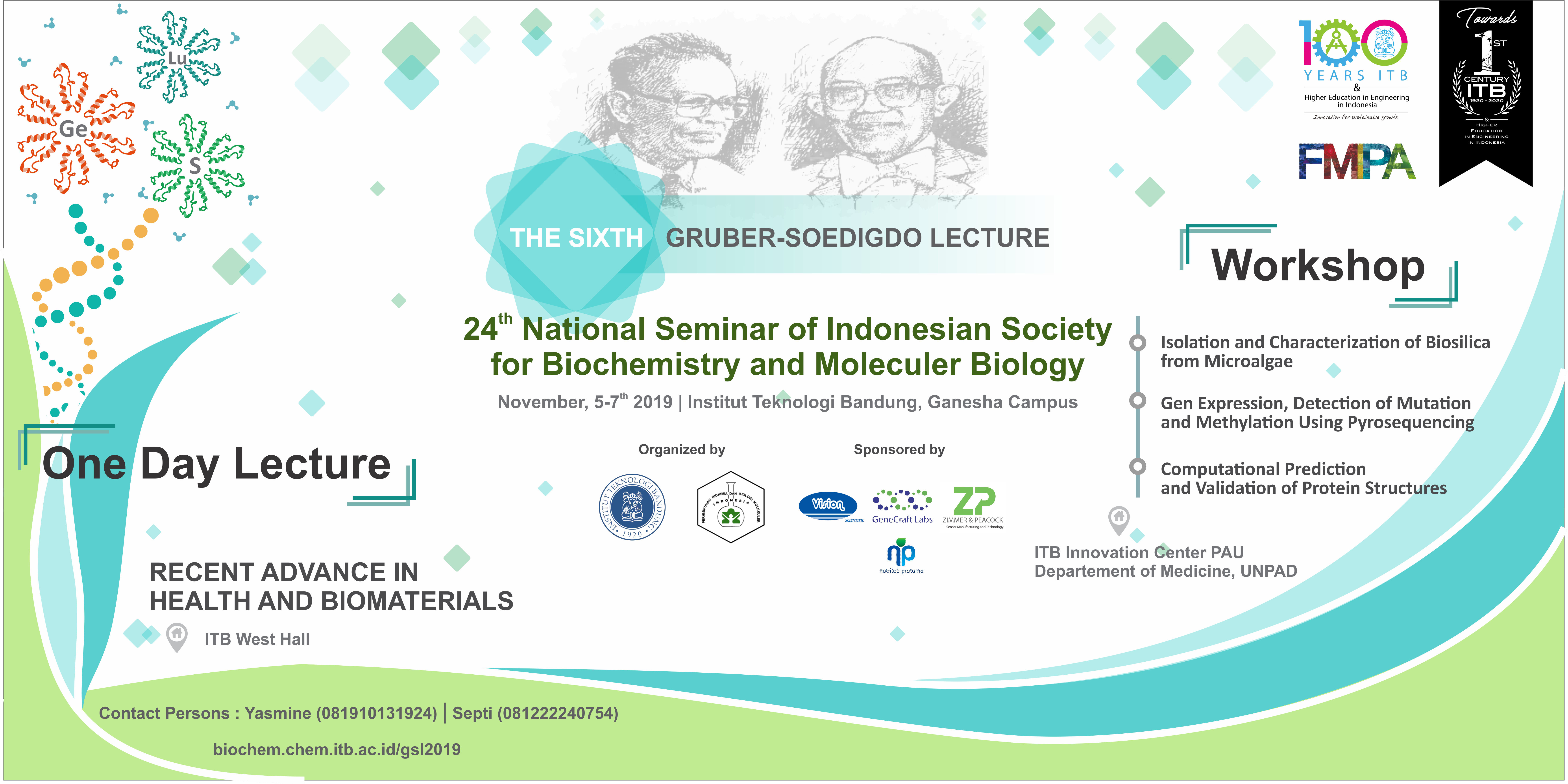PRESS RELEASE: The 6th Gruber Soedigdo Lecture – GSL2019