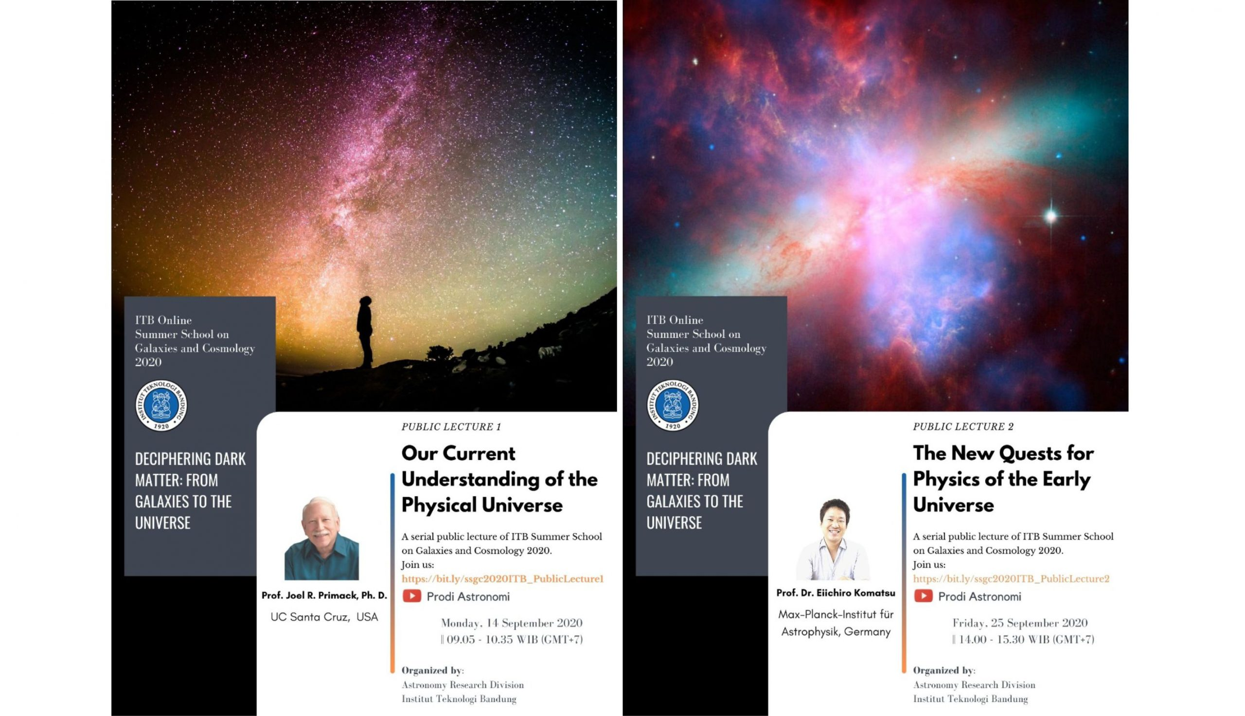 ITB Online Summer School on Galaxies and Cosmology 2020