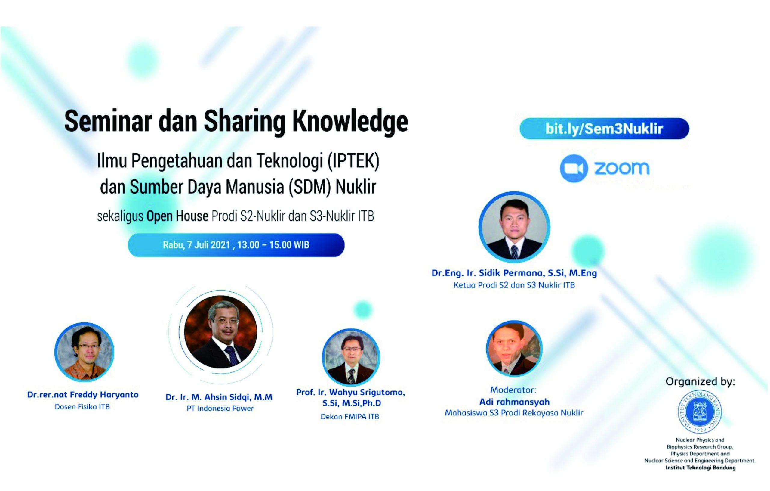 Seminar dan Sharing Knowledge